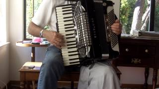 CYCLE OF 5THS JAZZ EXERCISE, BOSSA NOVA TEMPO, EXCELSIOR SYMPHONY GRAND ACCORDION 9 1 15