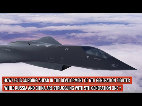 """U.S 6th GENERATION FIGHTER IS DEVELOPED IN A YEAR & HAS ALREADY FLOWN! IT HAS """"BROKEN RECORDS"""" TOO !"""