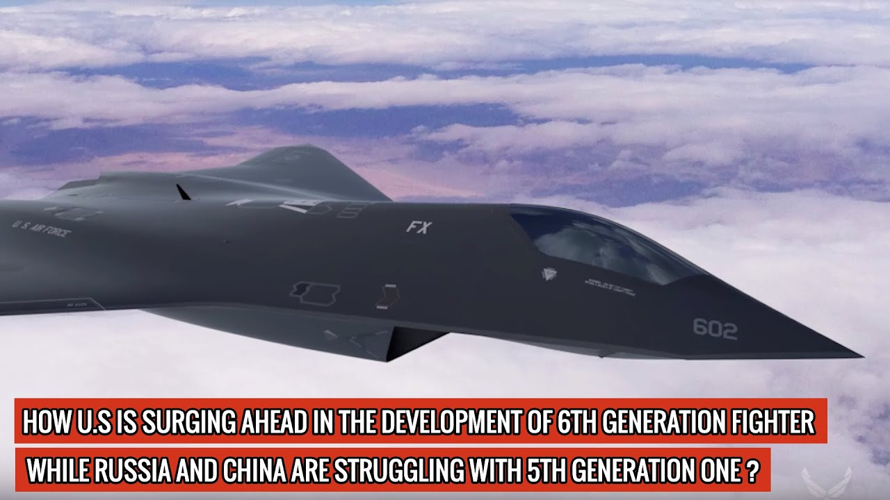 "U.S 6th GENERATION FIGHTER IS DEVELOPED IN A YEAR & HAS ALREADY FLOWN! IT HAS ""BROKEN RECORDS"" T"