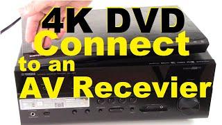 Comment Connecter 4k UHD lecteur de DVD à un Récepteur AV