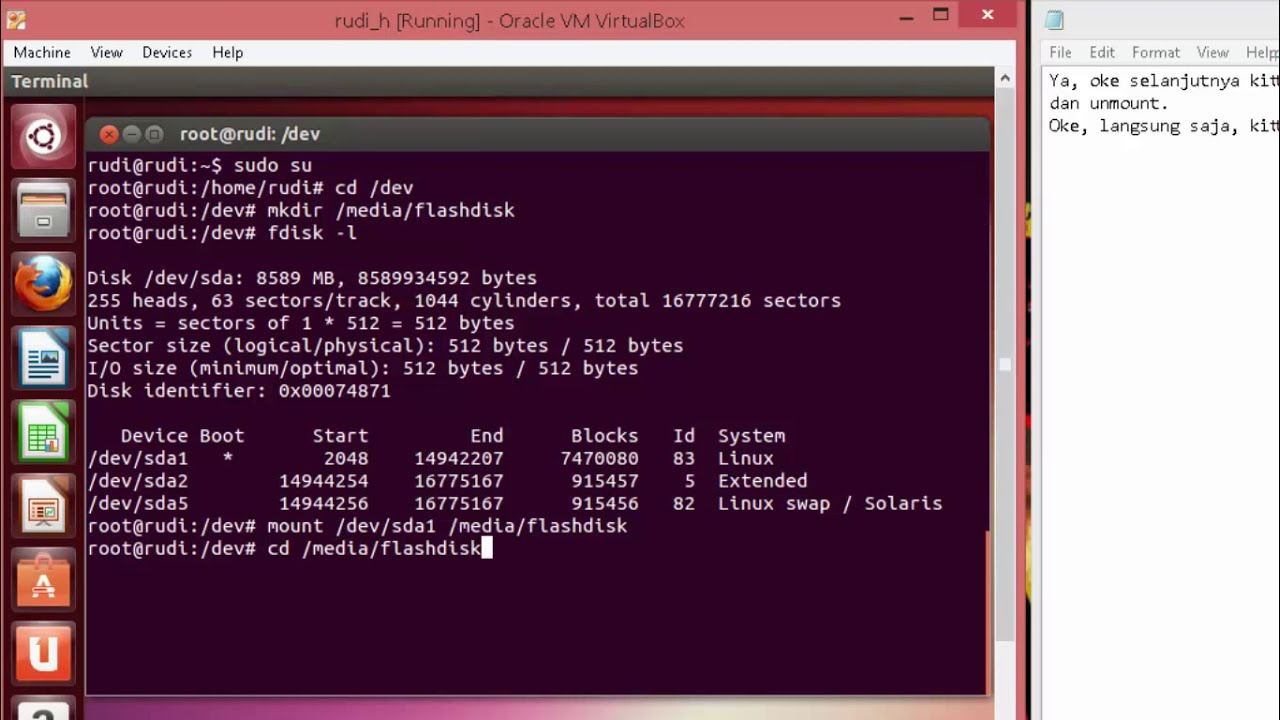 Unmount Linux
