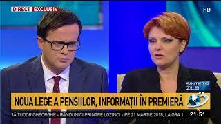 Ministrul Muncii, informații despre legea pensiilor