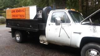 1981 gmc sierra 3500 4x4 dually dump truck for sale