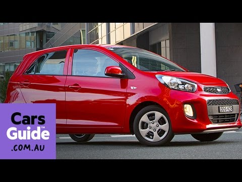 2016 Kia Picanto review | first drive video