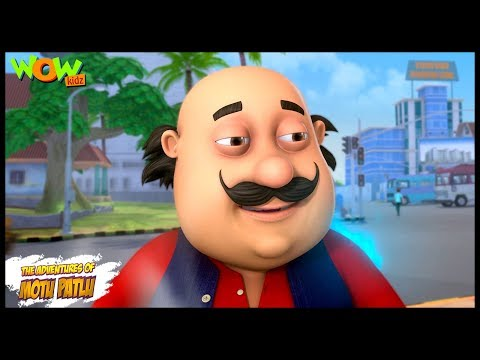 Motu Patlu New Episodes | Cartoons | Kids | Motu Patlu Blue Fire | Wow Kidz