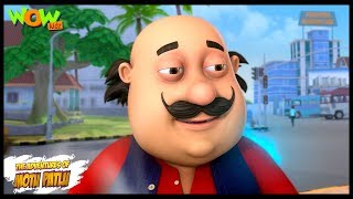 Motu Patlu New Episodes | Cartoons | Kids | Motu Patlu Blue Fire | Wow Kidz