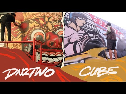 Bali Mural By Cube & Dnztwo