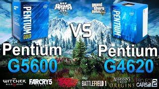 pentium G5600 vs G4620 Test in 8 Games