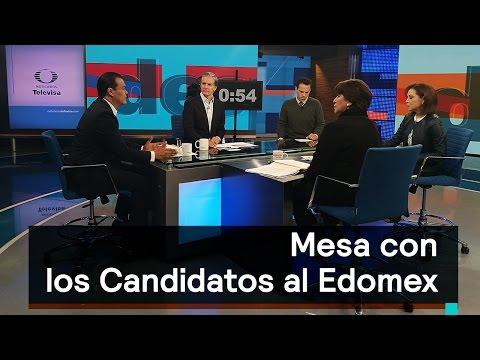 Los candidatos al gobierno del Edomex, conversan en Despierta - Despierta con Loret