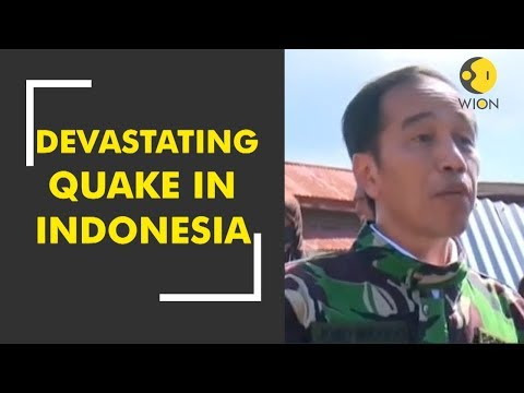 Indonesia to accept international help after devastating quake