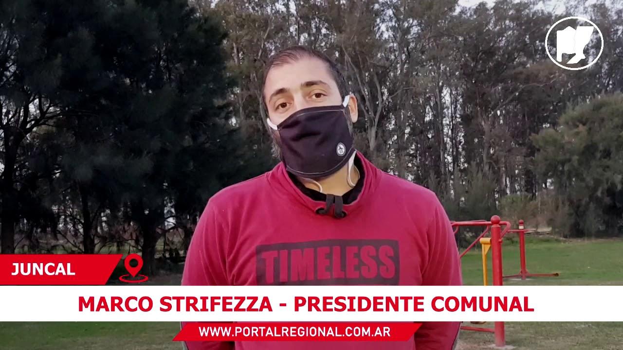 Entrevista a Marco Strifezza - Presidente Comunal de Juncal - YouTube