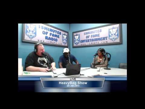 Clinton LG (@ClintonLG) Interview on 15 Minutes Of Fame Radio #HeavyBagShow
