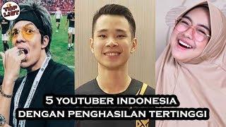 Bikin Ngiiler Gajinya, Inilah 5 Youtuber Indonesia Dengan Penghasilan Tertinggi