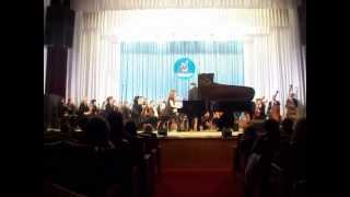 S.Rachmaninov - piano concerto no.1 (1st movement) - Glavnenco Natalia (16 years old)