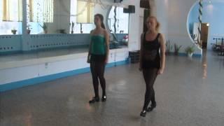 Детский ансамбль ирландского танца Irish Angel, Кемерово.AVI
