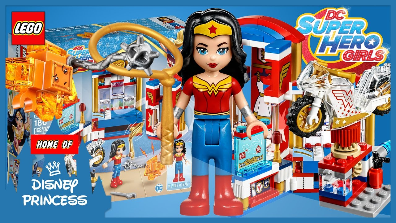 LEGO DC Superhero Girls WONDER WOMAN Dorm Funny Review ...