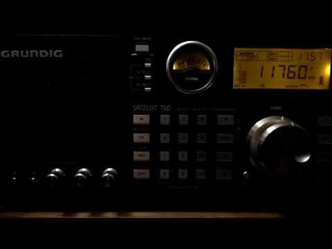 Shortwave broadcast of Radio Havana Cuba @ 11760 kHz