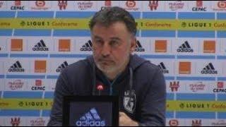 LOSC - Christophe Galtier réagit après une défaite lourde 5-1 face à Marseille