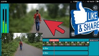 how to blur effect apply your video in kinemaster