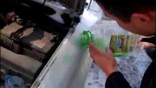 Летняя жидкость для омывания стекол при -3С