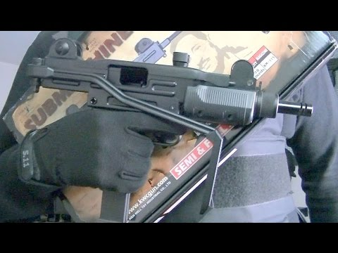 KWC KCB-07 AIRSOFT GAS BLOWBACK MINI UZI / 2011 version / Unboxing / Review