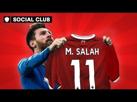 CAN SALAH REACH MESSI'S LEVEL? | SOCIAL CLUB