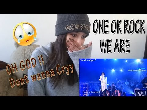 ONE OK ROCK 『We are �s ver.~』 _ REACTION