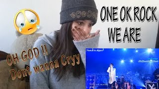 ONE OK ROCK 『We are ~18Fes ver.~』 _ REACTION
