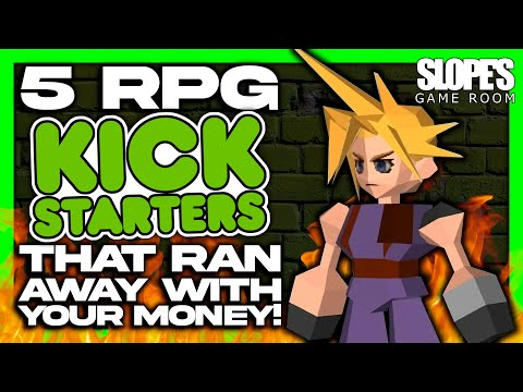 5 Video Game Kickstarters that ran away with your money RPG EDITION - SGR