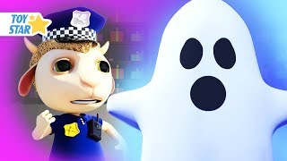 New 3D Cartoon For Kids ¦ Dolly And Friends ¦ Real Ghost Patrol And Johny Police Jail Playhouse #161