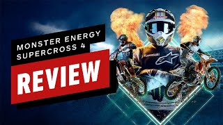 Monster Energy Supercross - The Official Videogame 4 Review (Video Game Video Review)