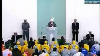Friday Sermon 21st May 2010 (Russian)