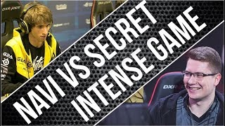LEGEND TEAM FIGHT - Intense Game Navi vs Secret | Dota 2