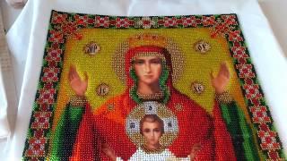 Вышитые иконы бисером от Панна и Черивна Мить