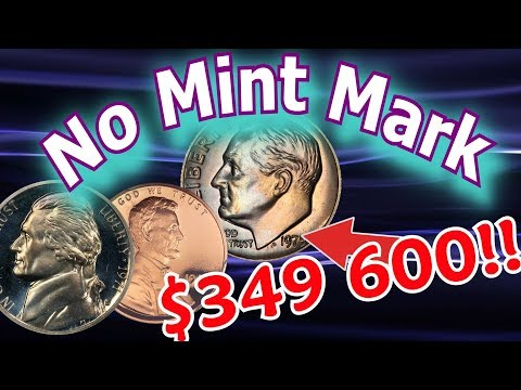 Rare Proof Coins Worth Money - No Mint Mark Coin Varieties