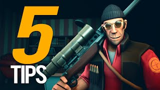 TF2 - Top 5 Sniper Tips!