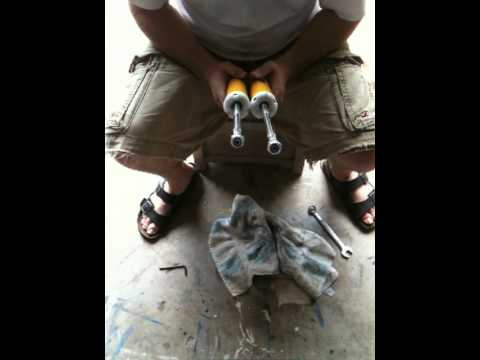 Koni Yellow Rear Shock Adjustment E46 Youtube