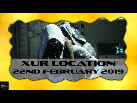 Destiny 2 Xur Location Today 22nd February 2019 With Exotic Items