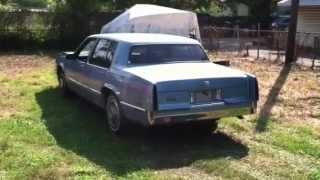 Look at a 1990 Cadillac Sedan Deville