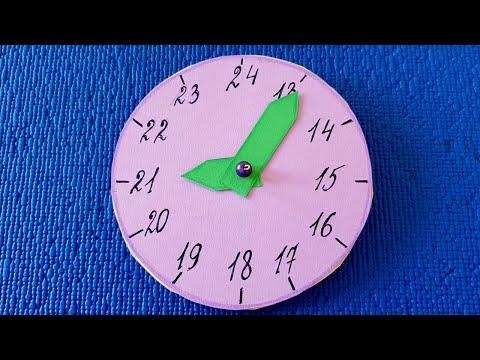 Часы в школу своими руками часы