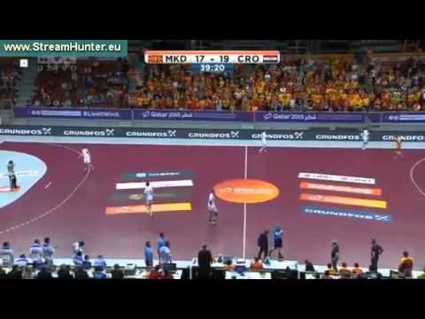 Macedonia vs Croatia - Men's Handball Championship 2015 - Group B, Day 4 (21/01/2015)