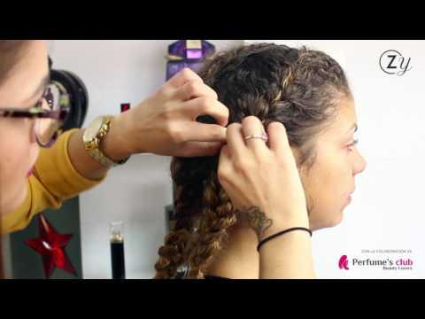 Cómo hacerte un peinado de boda fácil y bonito si tienes el pelo rizado