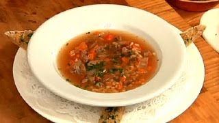 Easy Beef & Barley Soup Recipe : Easy Recipes