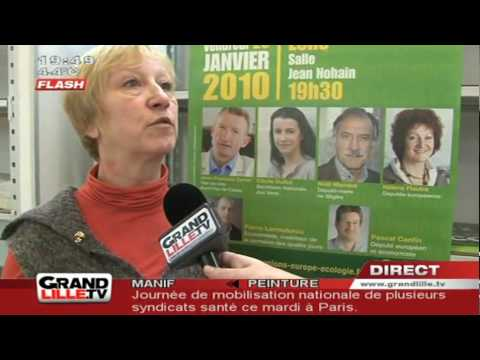 Régionales 2010 : Europe Ecologie Rassemble (Nord)