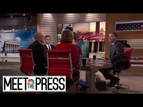 """'Meet The Press' Roundtable: Is Beto O'Rourke A """"Flavor Of The Month"""" Or Is There More Substance?"""