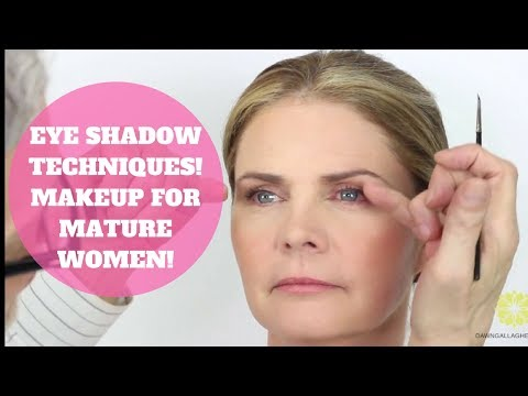 EYE SHADOW TIPS AND TRICKS MAKEUP OVER 50