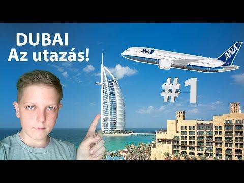 Dubai city #1 - Az érkezés