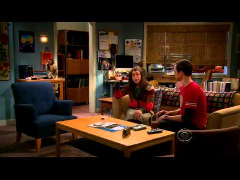The Big Bang Theory Amys Smoking Monkey Youtube