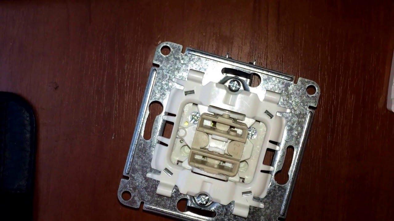 схема установки выключателя schneider