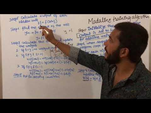 madaline training algorithm